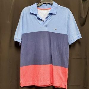 Vinyard Vines colorblocked polo shirt
